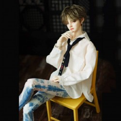 1/3 BJD Doll Full Set Male Boy Doll Ball Jointed Dolls + Makeup + Clothes + Pants + Shoes + Wigs + Doll Accessories